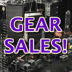 Music Gear & Equipment For Sale